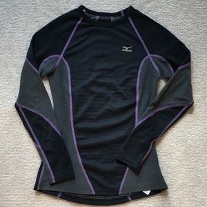 Mizuno thermal running top - XS